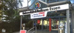Im Streit an der Uniklinik in Holsterhausen geht heute die Schlichtung zu Ende.