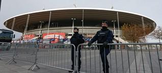 """Lagebericht vom Stade de France: """"Die Stimmung ist ganz anders"""""""