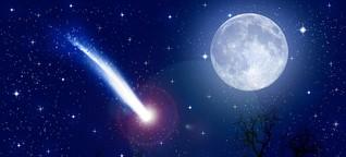 Wie entstehen Sternschnuppen? | MDR.DE