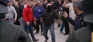Reportage aus Chemnitz: Ein Schweigemarsch - nur mäßig friedlich - SPIEGEL ONLINE - Video