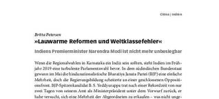 Lauwarme Reformen und Weltklassefehler