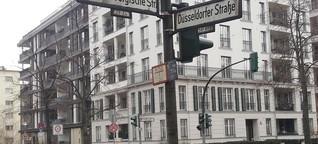 Düsseldorf als Straßenpate zwischen Köln, Las Vegas und Töging am Inn