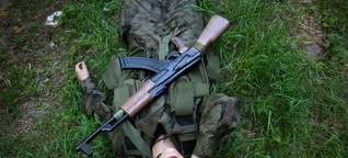 Suwałki, paramilitary and uniform heaven