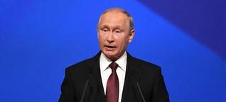 """Petersburger Wirtschaftsforum: Putin warnt vor einer Wirtschaftskrise, die """"die Welt noch nicht gesehen hat"""""""