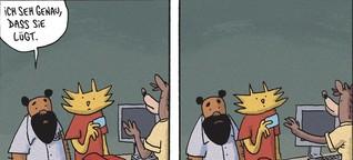 Comic-Legende von Lewis Trondheim: Herr Hase lebt wieder. Schade!