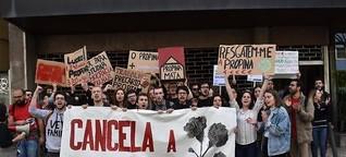 Portugal: Mit Debatten und Teigtaschen gegen Gebühren