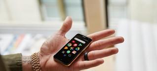 Der legendäre Palm kehrt als Mini-Smartphone zurück