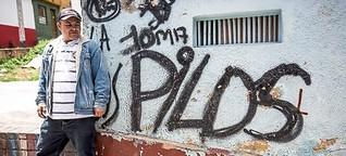 Sightseeing mit einem kolumbianischen Bandenchef