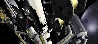 Seil in den Orbit: Was macht eigentlich ... der Weltraumaufzug?