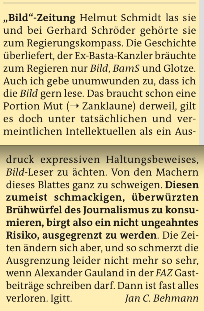 A-Z: BILD-Zeitung
