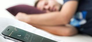 So können Apps Ihren Schlaf verbessern