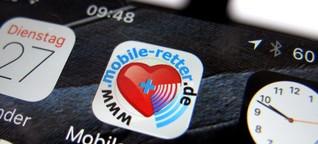 Expertenrat: Wie gut sind Erste-Hilfe-Apps? - SPIEGEL ONLINE - Gesundheit