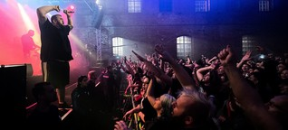 Dessau-Konzert von Feine Sahne Fischfilet: Pfeffi fürs Bauhaus, Party für alle