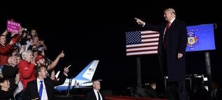 Rohrbomben-Pakete: Trumps Rhetorik in der Kritik