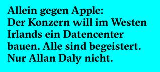 Allein gegen Apple