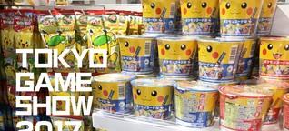 Tokyo Game Show 2017: Das verrückteste Nerd-Essen aus Fernost! | ProSieben Games