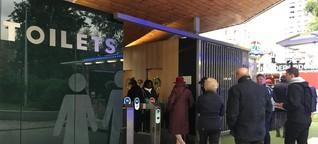 """Vom """"großen Gestank"""" zur WC-App: Wie Londoner aufs Klo gehen"""