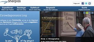 Serie Crowdfunding Teil 7: MySherpas: Ilse Bilse, keiner will se!?