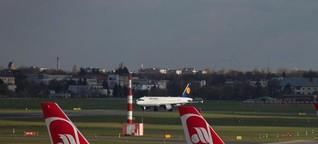 Berichterstattung zu Air Berlin-Insolvenz