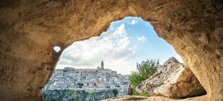 Europas Kulturhauptstadt 2019:  Matera, die unmögliche Stadt