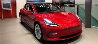 Tesla Model 3: Probesitzen statt Probefahrt
