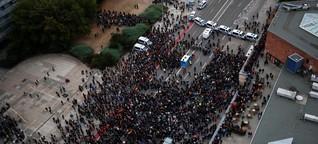 Demonstrationen: Die Spaltung liegt in Chemnitz in der Luft - WELT