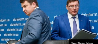 Der Mann, der fast allein gegen die Korruption in der Ukraine kämpft | NZZ