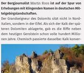 Gerolsteiner Dolomiten: Kleine Berge ganz groß