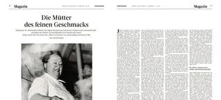 """""""Die Mütter des feinen Geschmacks"""" - Köchinnen in Lyon"""