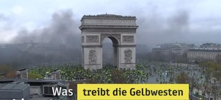 Die Proteste der Gelbwesten