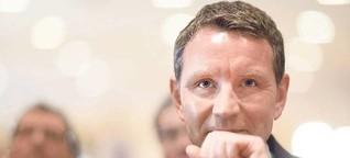 Björn Höcke sucht seinen Weg aus der Deckung