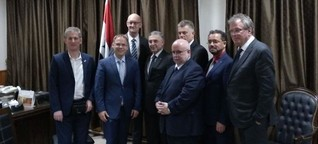 AfD-Politiker auf Werbereise für Assad
