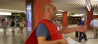 Der Trottwar-Verkäufer vom Rotebühlplatz