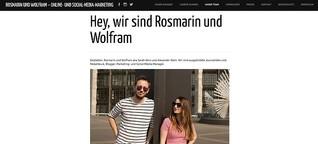 CEO bei Rosmarin und Wolfram | Agentur für Kommunikation