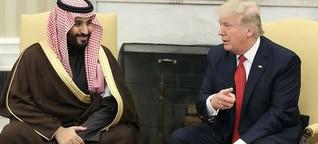Wie Trump und bin Salman gemeinsame Sache machen
