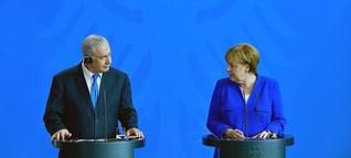 Worüber Israel und Deutschland uneins sind