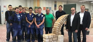 Schüleraustausch mit der Baufachschule Pilsen