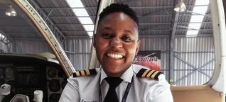 Pilotin gegen Widerstände: Südafrikas Überfliegerin