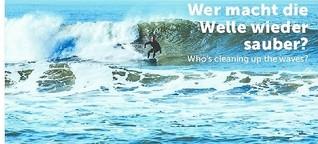 Wie wird die Welle  wieder sauber?