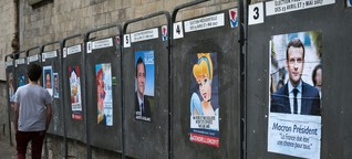 """Junge Franzosen: """"Wozu jemanden wählen, der mir nicht hilft?"""""""