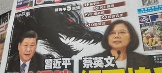 Taiwan ist Drohungen aus Peking schon gewohnt