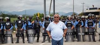 """""""Vamos a tener un proyecto autoritario en Honduras"""""""