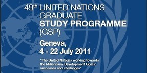 "CO-AUTORIN des UN-Berichts - ""The United Nations Working Towards The Millennium Development Goals"""