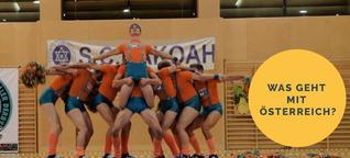 Warum in Wien männliche Cheerleader eine Frauenmannschaft anfeuern