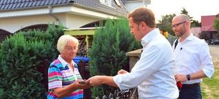 Wie ein CDU-Politiker in Pankow auf Stimmenfang geht
