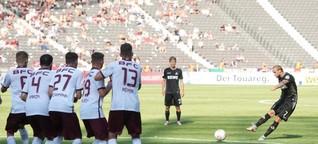 BFC Dynamo geht gegen Köln im DFB-Pokal unter