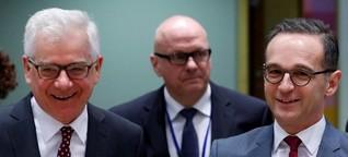 Bundesaußenminister: Eine Urangst der Polen belastet den Maas-Besuch