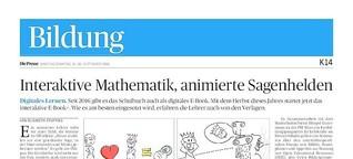 Interaktive Mathematik, animierte Sagenhelden