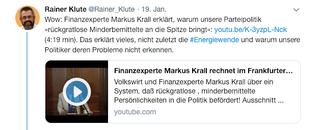 Mit Scheinkorrelationen das politische System diskreditieren - Die merkwürdigen Ausflüge des Herrn Krall - ichsagmal.com