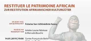 Discussion - The Restitution of African Cultural Heritage